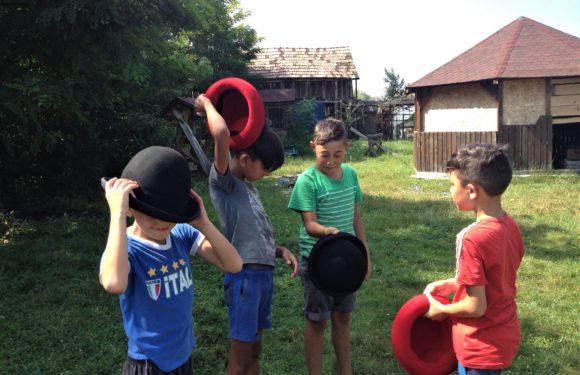 Circ de 2 lei - proiect de circ social 10