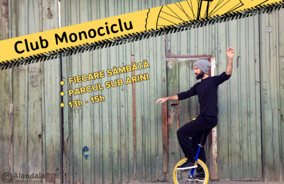 Monociclu în parcul Sub Arini!