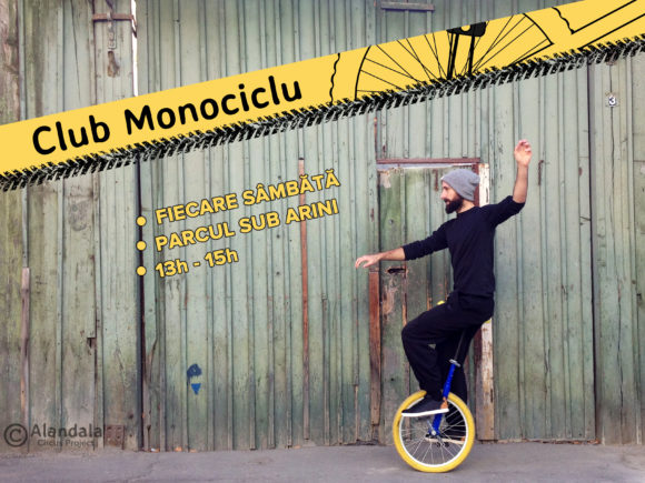Circ in SIbiu - Scoala de circ Alandala Circus project